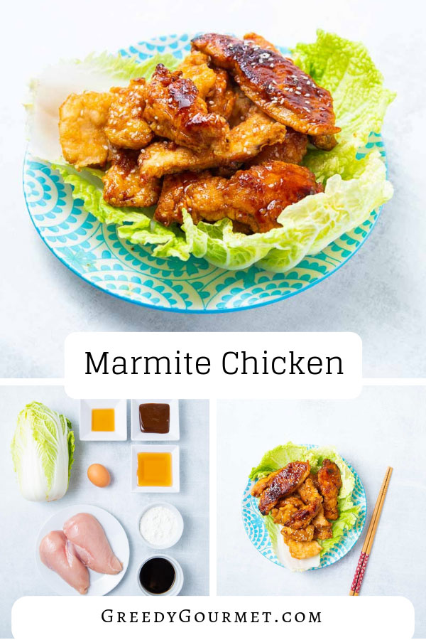 Tempt yourself with this amazing homemade Asian marmite chicken recipe. Even you won't be able to resist chicken glazed with a rich & intense marmite sauce.