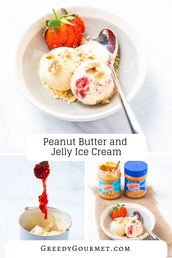 Don't miss out on this incredible silky peanut butter and jelly ice cream recipe. It's extremely tasty and easy to make. Pairs well with other recipes too.