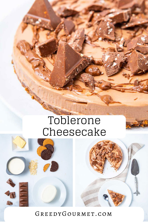 Try this easy no bake toblerone cheesecake recipe. It's one of a kind. If you love toblerone chocolate, then this cheesecake is definitely for you to try!