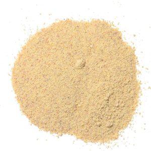 a pile of white powder