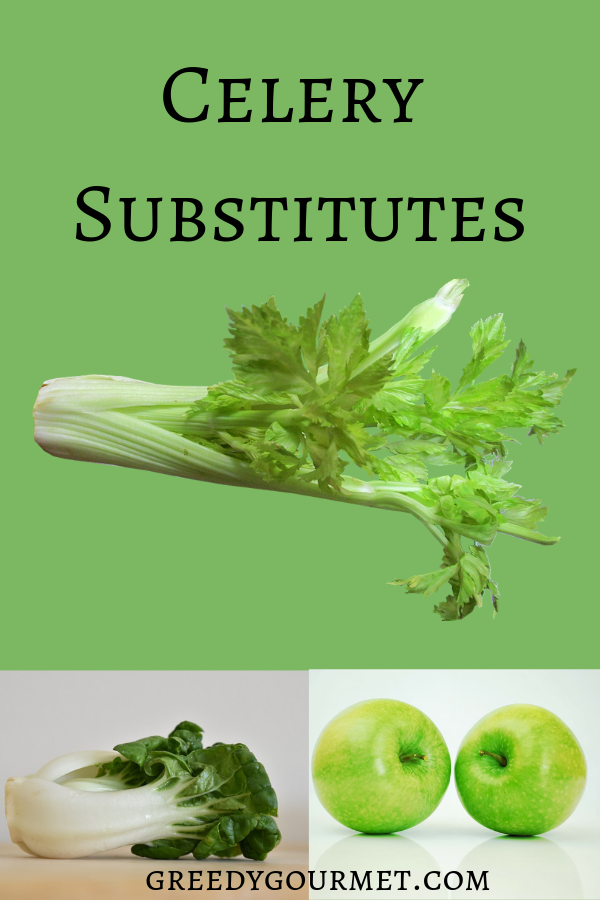 Check out this extensive list of 11 celery substitutes. All celery alternatives come with advice on how to substitute them correctly in specific recipes.